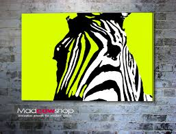 Zebra Home Decor Funky Zebra Wall Art Home Decor Pinterest Walls And Zebra Art