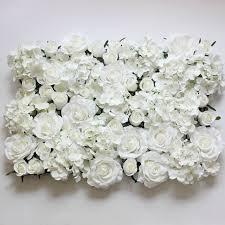 fleur artificielle mariage aliexpress acheter blanc fleur artificielle mur pour la