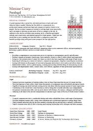 paralegal resume template paralegal cv sle
