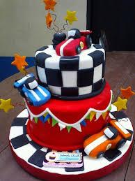 birthday cake ideas boys in race car birthday cake with