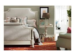paula deen by universal bungalow veranda upholstered king bed with