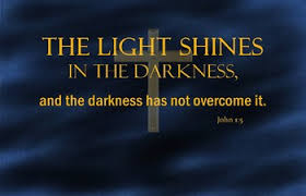 light in the darkness verse john 1 5 bible verse poster the light shines in the darkness tpt