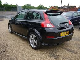 volvo hatchback used 2010 volvo c30 1 6 r design 2 door coupe in black black