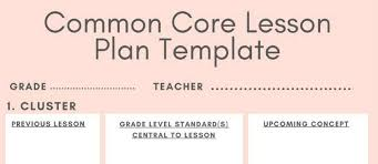 5 downloadable math lesson plan templates for small group logicroots
