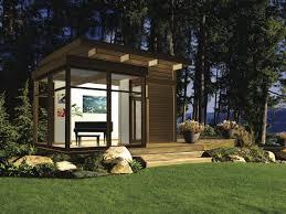 eco friendly modern studio kit by lindal cedar homes inhabitat
