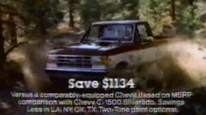 ford f150 commercial throwback 1988 f 150 commercial yeah ford f150online com