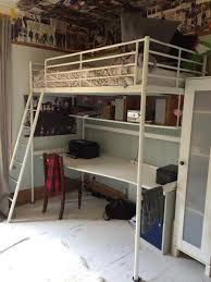ikea tromso loft bed ikea loft bed with desk in eastbourne sold friday ad
