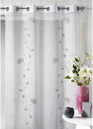 rideau chambre bébé jungle voilage en ã tamine brodã e floral gris homemaison vente chambre