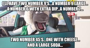 Fast Internet Meme - what happens when two fast food memes meet big smoke s order
