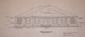 front view and floor plan