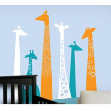 Removable Wall Decals For Nursery Giraffe Wall Decal For Baby Nursery Removable Wall Decals