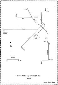 Map Of Hattiesburg Ms Travelling By Trolley In Mississippi Hattiesburg U2013 Preservation