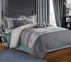 light grey comforter set grey comforter king beadroom decor idea white modern bedding set as