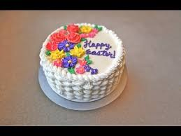How To Decorate Birthday Cake How To Make A Basket Weave Cake Youtube