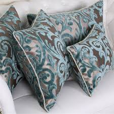 acheter coussin canapé modren 45 60 flocage oreiller de luxe plaid élégant fleur home