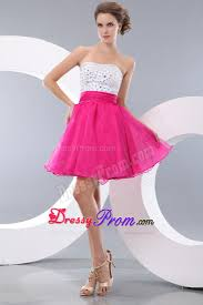 pink and white prom dresses dress ty