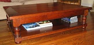 turned leg coffee table holmes fine furniture