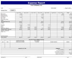 Expense Report Excel Template 9 Expense Report Templates Excel Templates