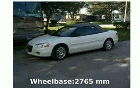 2006 chrysler sebring convertible specs u0026 features youtube