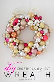 christmas christmas how to make ornament wreath livelovediy diy