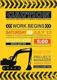 construction party invitations marialonghi com