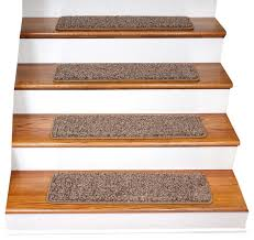 tape free non slip diy carpet stair treads set of 15
