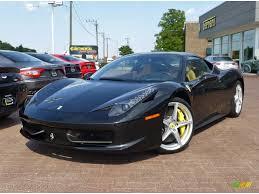 Ferrari 458 Colors - 2010 nero daytona black metallic ferrari 458 italia 83934840