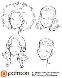 short hair reference sheet by kibbitzer on deviantart sketching