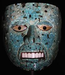religious aztec mask masks typically closed and