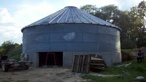 Grain Silo Homes by Grain Bin House Plans Escortsea