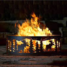 Firepit Sales P D Metal Works Mfr004 Moose Ring Pit Lowe S Canada