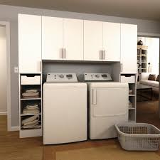 modifi horizon 90 in w white tower storage laundry cabinet kit