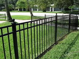 decorative iron and steel fences