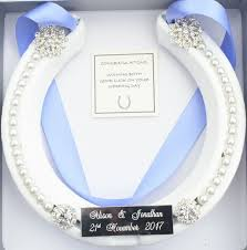 lucky horseshoe gifts 106 best real lucky wedding horseshoes images on gifts