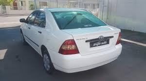 2003 toyota corolla 140i gle u2013 anglo auto