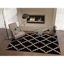 3 X 4 Area Rug Amazon Com Black Ebony 5x8 5 U00273
