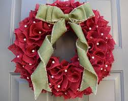 burlap christmas wreath burlap christmas wreath rustic christmas wreath neutral