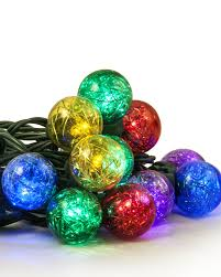 color my world tinsel led globe lights treetopia