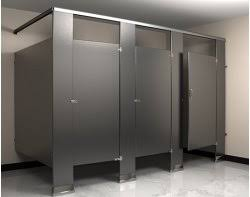 Stainless Steel Bathroom Partitions by Flushite Stainless Steel Bathroom Partition Flush Metal Partitions