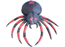 the holiday aisle halloween inflatable black spider decoration
