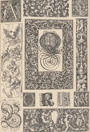 typographic ornament of the german renaissance the graffical muse