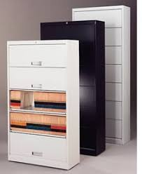 Lateral File With Storage Cabinet Filing Cabinets Flip N File Locking Retracting Doors End Tab Files