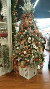 Christmas Decorations Garden Centre by Bents Garden Centre Bronze Rose Gold Christmas Tree Stunning Tree