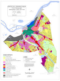 New York Neighborhood Map by Comprehensive Plan 2020 Schenectady Ny