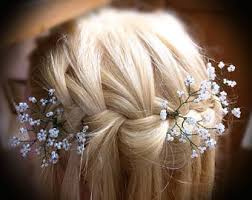 flower hair bun flower hair pins etsy