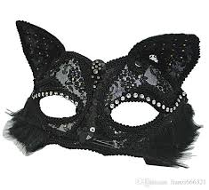 cat masquerade mask venetian masquerade mask women s black glitter fancy cat lace