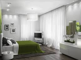 fascinating white bedroom decorating ideas round lime green