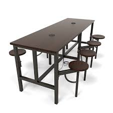 Standing Height Table by Ofm Endure Series Standing Height Eight Seat Table 3 Colors