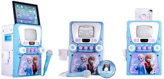 disney frozen karaoke machine monitor bonus cd