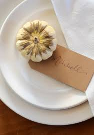 Diy Place Cards Diy Place Cards For Fall And Winter Popsugar Home